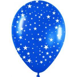 Globos cristal estrellas pack 10 und