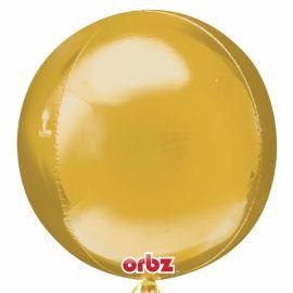 Globo helio esfera oro