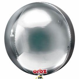 Globo helio esfera plata