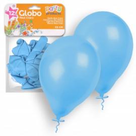 Globos pastel azul claro 23 cm 12 und
