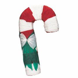 Piñata bastón caramelo navidad