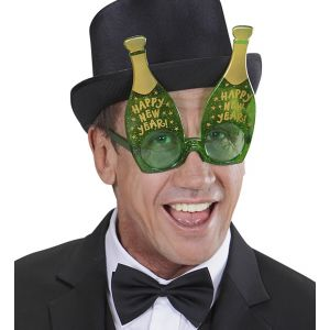 Gafas botella champan
