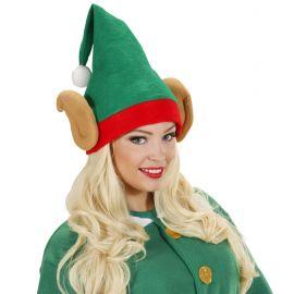 Sombrero elfo enanito con orejas