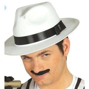 Sombrero ganster blanco
