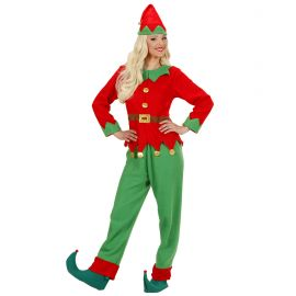 Disfraz elfo mujer adulto