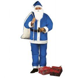 Disfraz papa noel azul