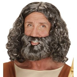 Peluca con barba jesus