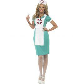 Disfraz enfermera clasica adulta