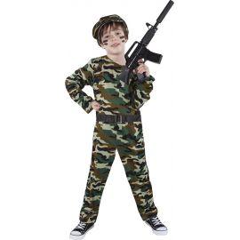 Disfraz soldado militar infantil