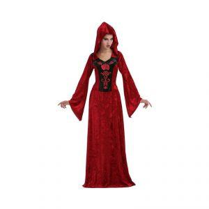 Disfraz vampiresa con capucha xl