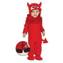 Disfraz demonio bebe 6/12 meses