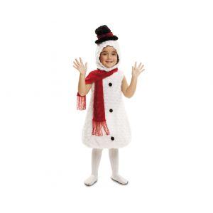 Disfraz muñeco de nieve peluche