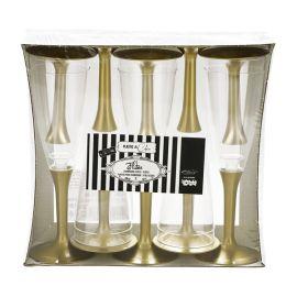 Copas champagne 10 und doradas