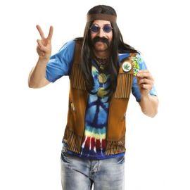 Camiseta hippie hombre