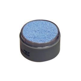 Maquillaje profesional agua azul perla