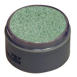 Maquillaje profesional agua verde perla
