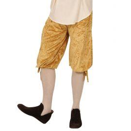 Pantalones epoca beige terciopelo
