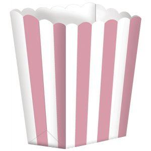 Caja palomitas rosa pack 5 und