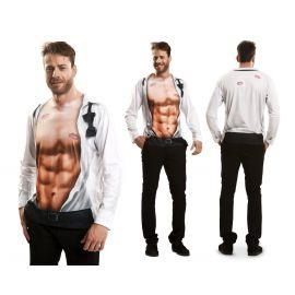 Camiseta sexy boy manga larga