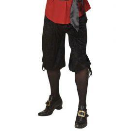 Pantalones epoca negros terciopelo