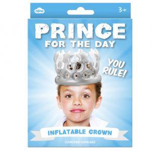 Corona rey inflable infantil
