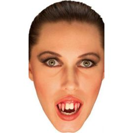 Dientes vampiro sangrante