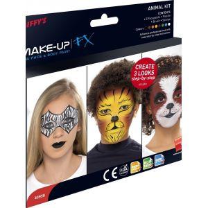 Kit maquillaje infantil animales