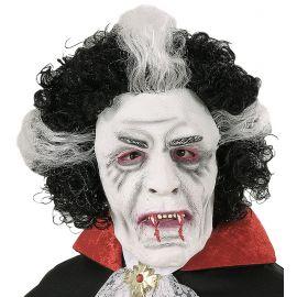 Máscara vampiro con peluca