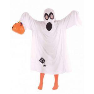 Disfraz fantasma truco o trato