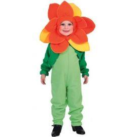 Disfraz flor infantil