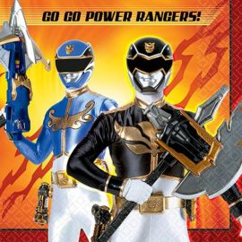 Servilletas power ranger pack 20 und