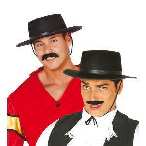Sombrero cordobes fieltro negro