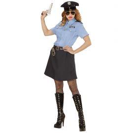 Disfraz policia clasica mujer