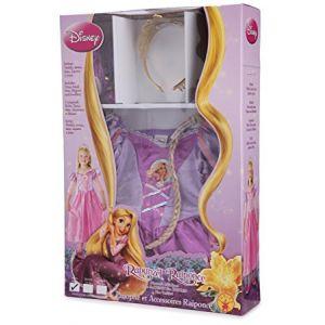 Disfraz rapunzel con accesorios