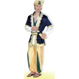 Disfraz sultan adulto con sombrero