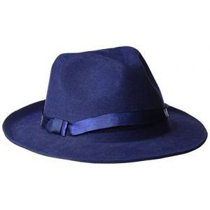 Sombrero ganster azul marino deluxe