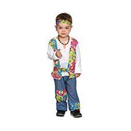 Disfraz hippie niño de 1 a 12 años