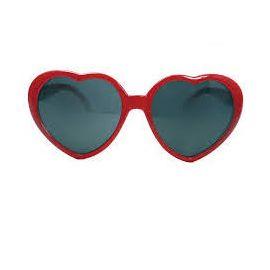 Gafas corazon rojas vv
