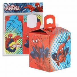 Paquete cajitas spiderman 4 und peq
