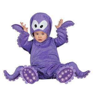 Disfraz bebe pulpo de 6 a 12 meses