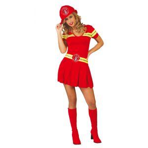 Disfraz bombera adulto