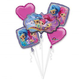 Bouquet globos Shimmer and Shine
