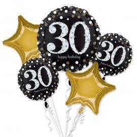 Bouquet globos 30 años