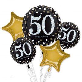 Bouquet globos 50 años