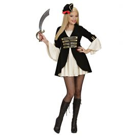 Disfraz piratesa capitana