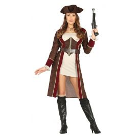 Disfraz piratesa lujo