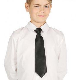 Corbata negra infantil 30cm