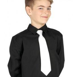 Corbata blanca infantil 30 cm