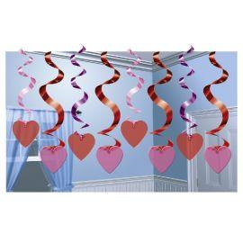 Colgantes corazones 15 und