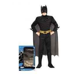 Disfraz batman rises musculos caja